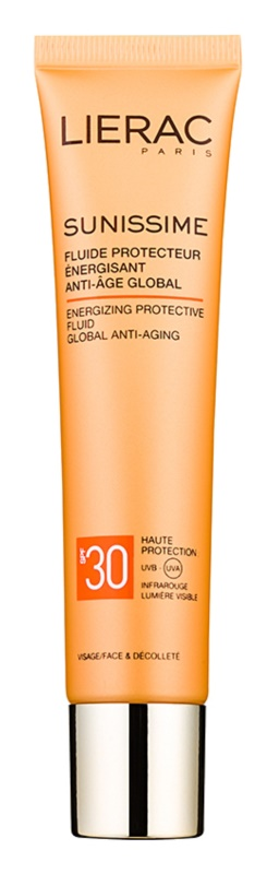 Lierac Sunissime energiebrengende beschermingsfluid SPF 30