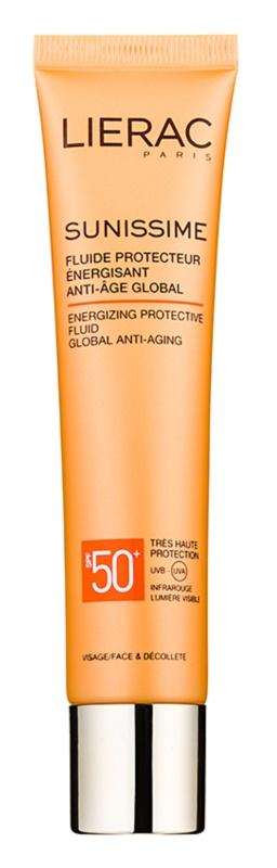 Lierac Sunissime energiebrengende beschermingsfluid SPF50+