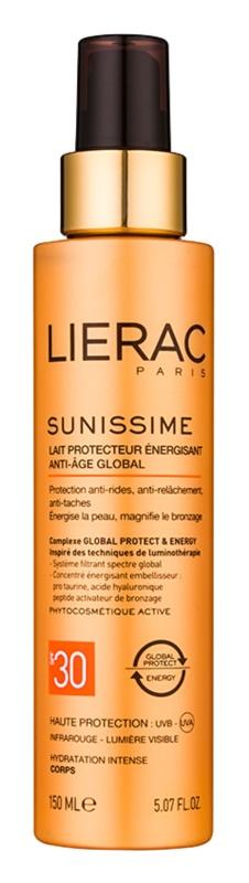 Lierac Sunissime energizující ochranné mléko SPF 30