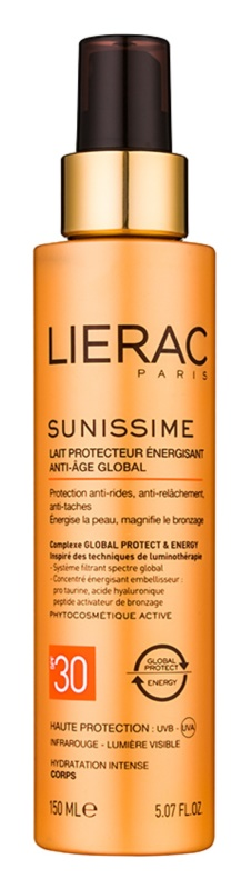 Lierac Sunissime енергетичне захисне молочко SPF 30