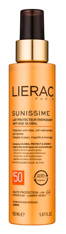 Lierac Sunissime енергетичне захисне молочко SPF 50