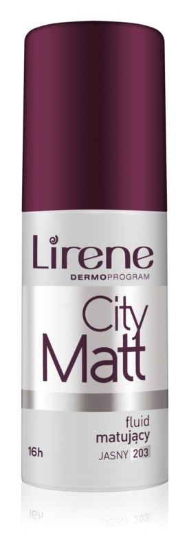 Lirene City Matt Make-up lichid matifiant cu efect de netezire