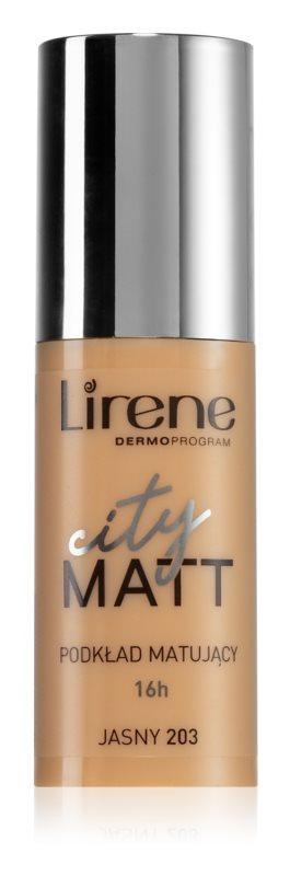 Lirene City Matt матуючий флюїд з розгладжуючим ефектом