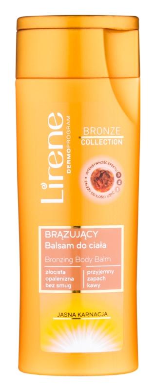 Lirene Body Arabica бальзам для автозасмаги для тіла