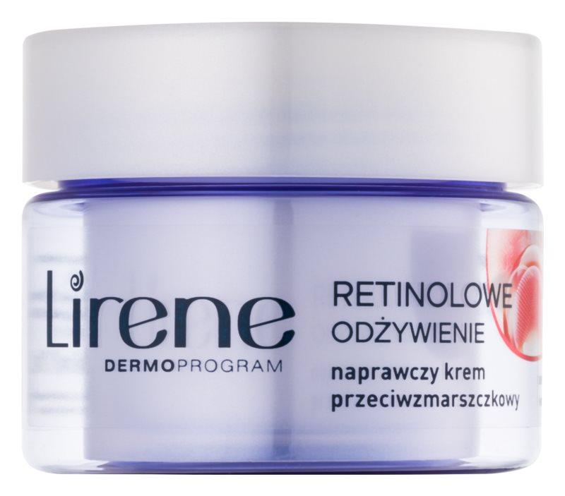 Lirene Rejuvenating Care Nutrition 70+ protivráskový krém na obličej a krk