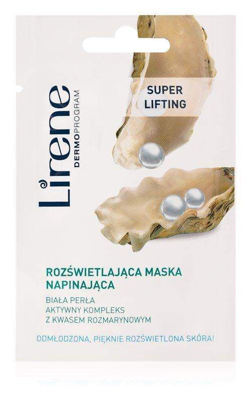 Lirene Masks and Peeling maska za posvetlitev za pomladitev kože