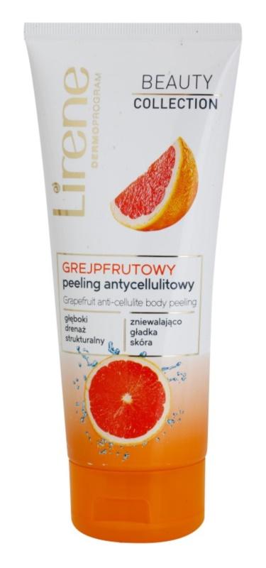 Lirene Beauty Collection Grapefruit exfoliante corporal contra la celulitis