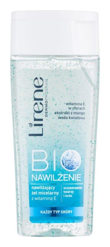 Lirene Bio Hydration micelarni čistilni gel za obraz in oči