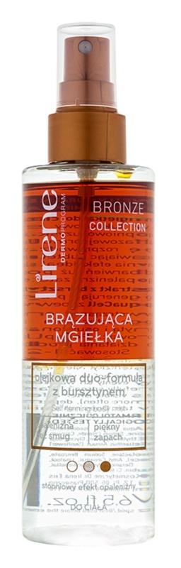 Lirene Bronze Collection samoopaľovacia hmla na telo