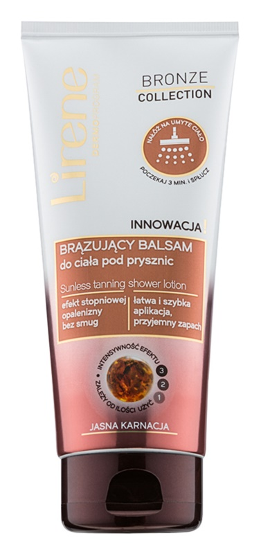 Lirene Bronze Collection Bronzing Douchemelk