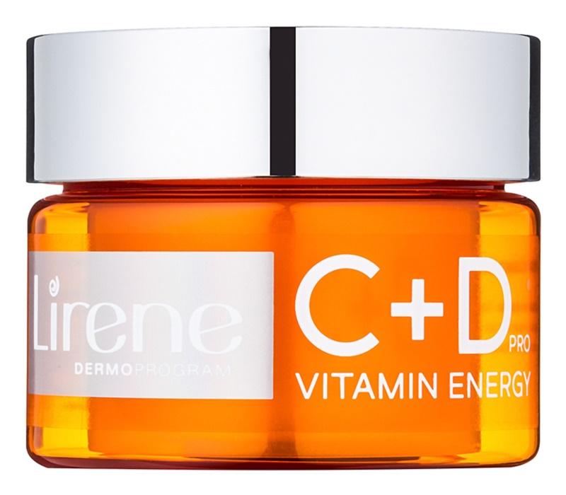 Lirene C+D Pro Vitamin Energy Feuchtigkeit spendendes Cremegel mit aufhellender Wirkung