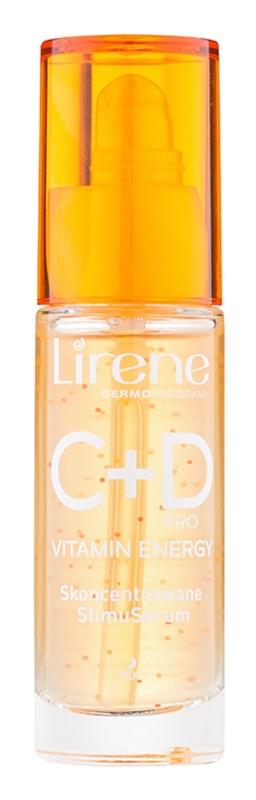 Lirene C+D Pro Vitamin Energy aufhellendes Serum mit glättender Wirkung