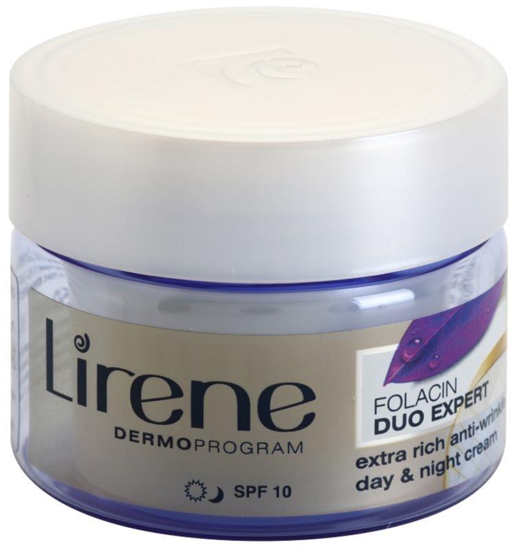 Lirene Folacin Duo Expert 60+ intenzivní protivráskový krém SPF 10