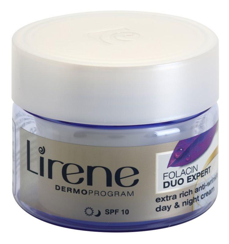 Lirene Folacin Duo Expert 60+ intenzívny protivráskový krém SPF 10