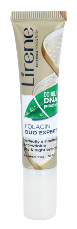 Lirene Folacyna 40+ gladilna krema za predel okoli oči proti gubam