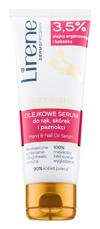 Lirene Hand Care olejové sérum na ruce a nehty