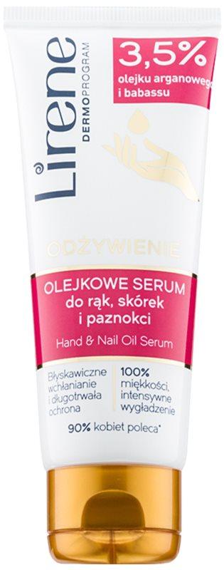 Lirene Hand Care serum-aceite para manos y uñas