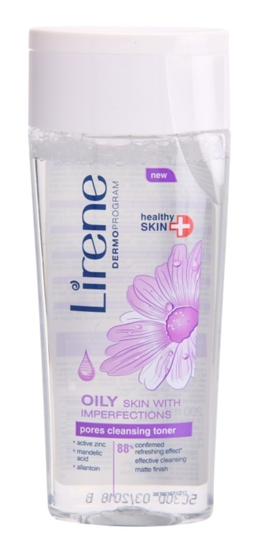 Lirene Healthy Skin+ Oily Skin Cleansing Tonic For Skin With Imperfections