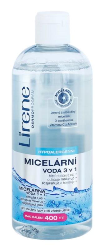 Lirene Hypoallergenic micelární čisticí voda 3 v 1