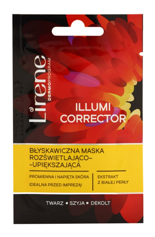 Lirene Masks and Peeling mascarilla iluminadora rejuvenecedor de la piel