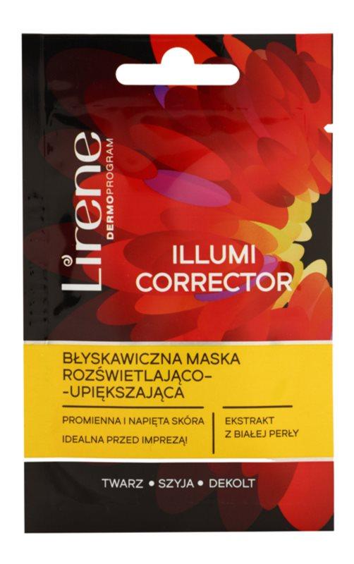 Lirene Masks and Peeling maseczka rozjaśniająca do odmładzania skóry