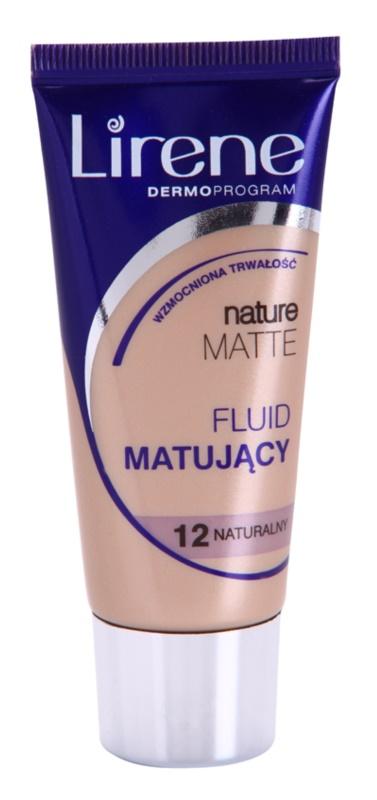 Lirene Nature Matte Make-up lichid matifiant pentru un efect de lunga durata