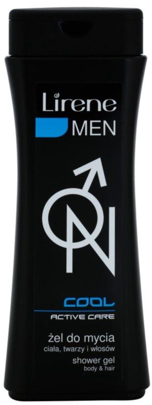 Lirene Men Cool sprchový gel na tělo a vlasy