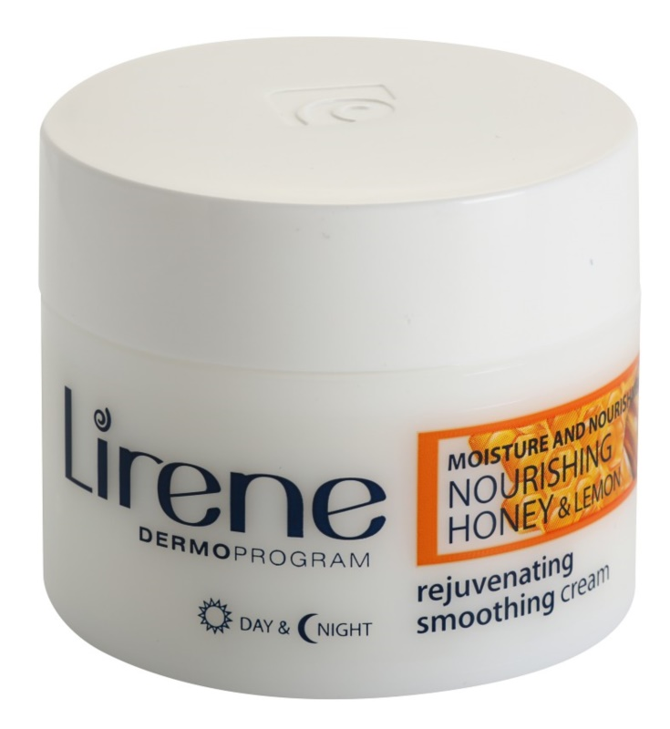 Lirene Moisture & Nourishment omlazující a vyhlazující krém s medem a citronem
