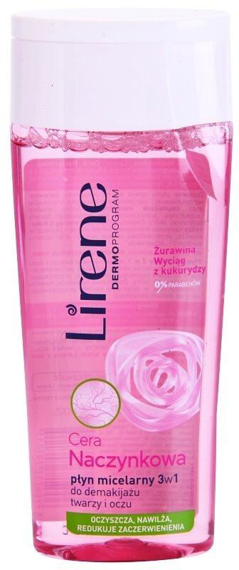 Lirene Redness micelárna čistiaca voda 3v1