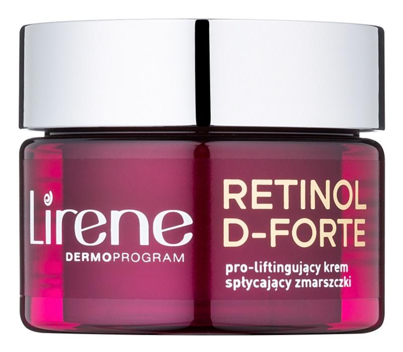 Lirene Retinol D-Forte 50+ dnevna krema proti gubam z učinkom liftinga