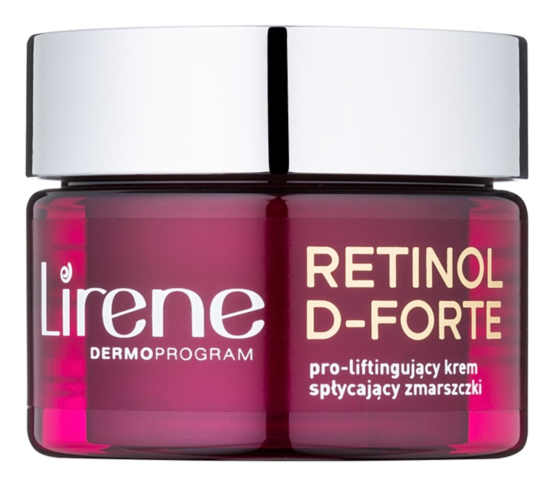 Lirene Retinol D-Forte 50+ protivráskový denní krém s liftingovým efektem