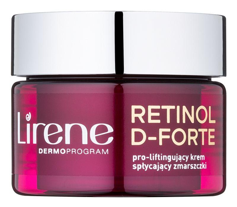 Lirene Retinol D-Forte 50+ protivráskový denný krém s liftingovým efektom