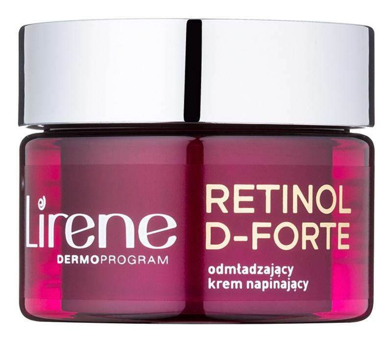 Lirene Retinol D-Forte 60+ odmładzający krem na dzień napinający skórę