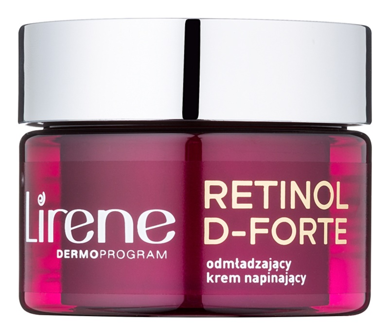 Lirene Retinol D-Forte 60+ omlazující denní krém pro vypnutí pleti