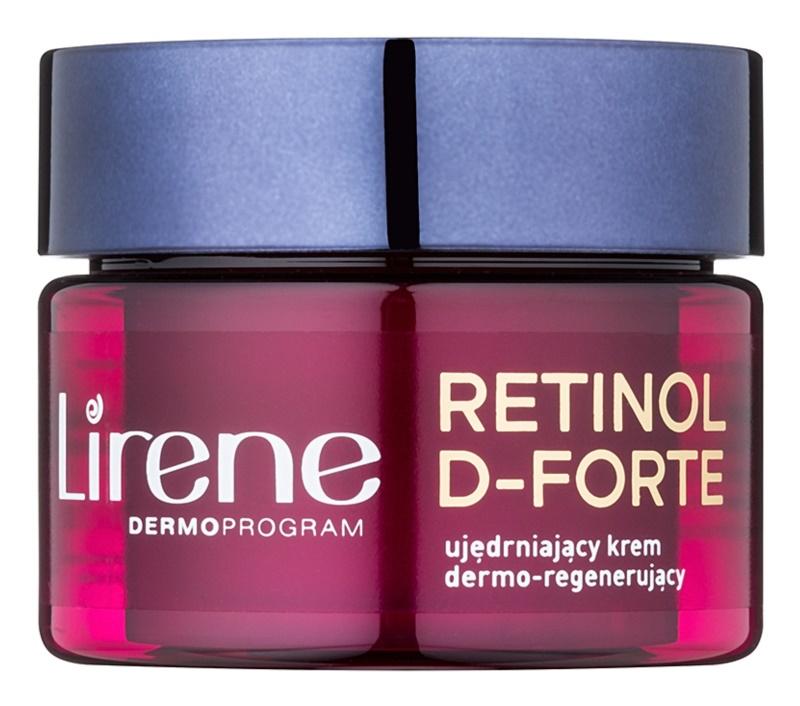 Lirene Retinol D-Forte 60+ zpevňující noční krém s regeneračním účinkem