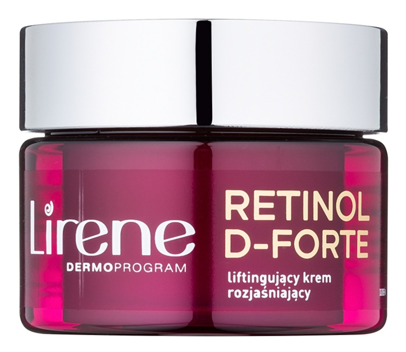 Lirene Retinol D-Forte 70+ Illuminating Day Cream With Lifting Effect
