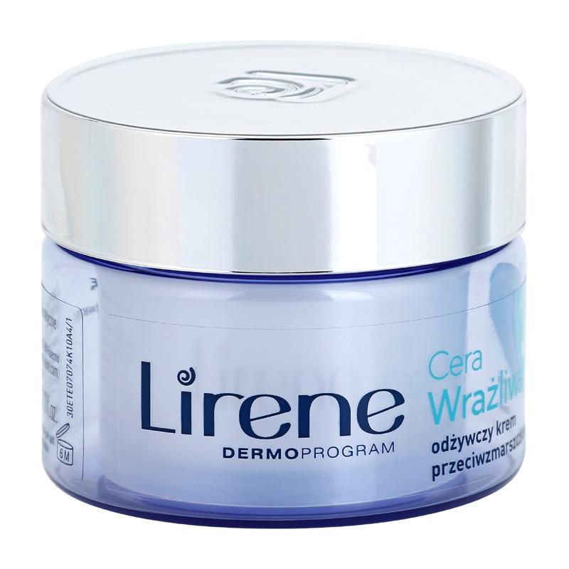 Lirene Sensitive Skin výživný protivráskový krém SPF15