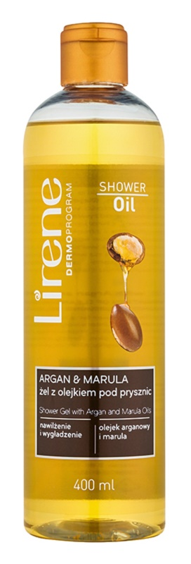 Lirene Shower Oil gel de duș cu ulei de argan și marula