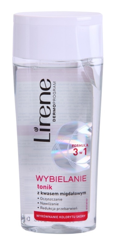 Lirene Whitening tónico para unificar a cor do tom de pele