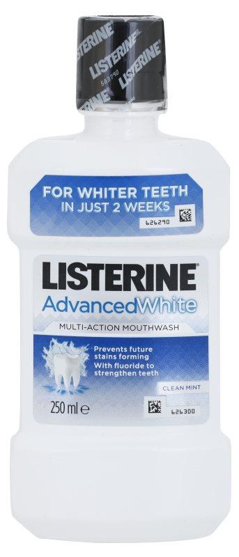 Listerine Advanced White szájvíz fehérítő hatással