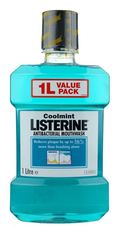 Listerine Cool Mint apa de gura pentru o respiratie proaspata