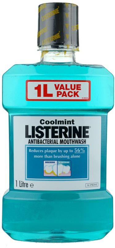 Listerine Cool Mint elixir bocal para hálito fresco