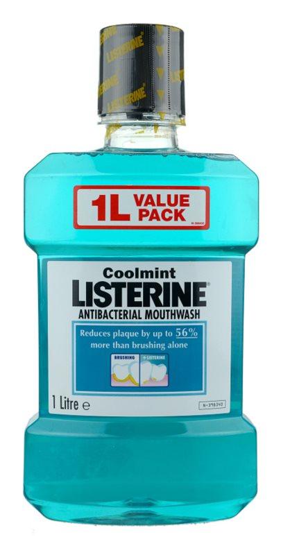 Listerine Cool Mint рідина для полоскання  рота для свіжого подиху