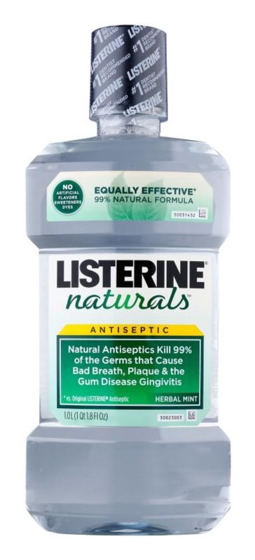 Listerine Naturals Herbal Mint enjuague bucal antiséptico