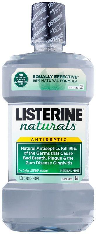 Listerine Naturals Herbal Mint náhrada