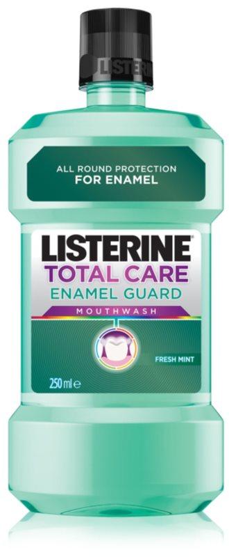 Listerine Total Care Enamel Guard enjuague bucal para unas encías sanas con efecto antiplaca