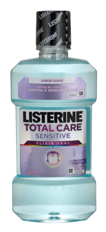 Listerine Total Care Sensitive enjuague bucal para una protección completa de dientes sensibles