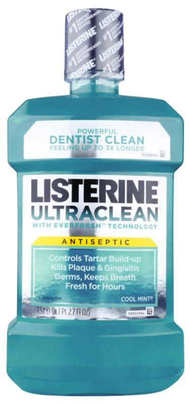 Listerine Ultra Clean Cool Mint Mundwasser für frischen Atem