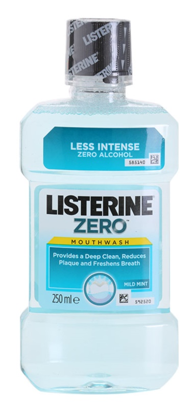 Listerine Zero Mouthwash Without Alcohol