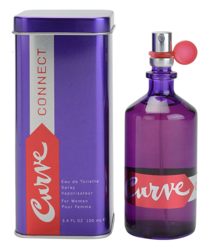 Liz Claiborne Curve Connect Eau de Toilette for Women 100 ml